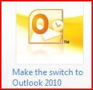 Make the switch to Outlook 2010